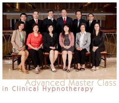Advanced master class in clinical hypnotherapy